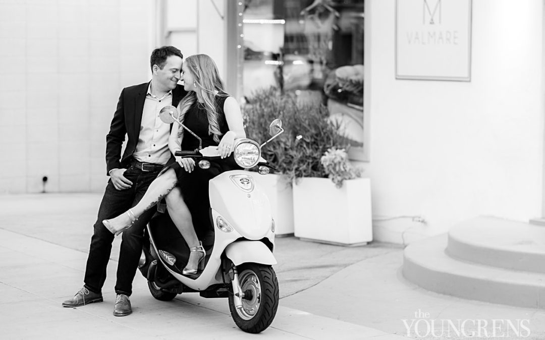 Little Italy Engagement | Alex and Kat